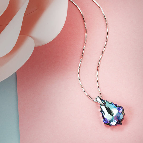 Vitrail Light Crystal Necklace - 24 Style