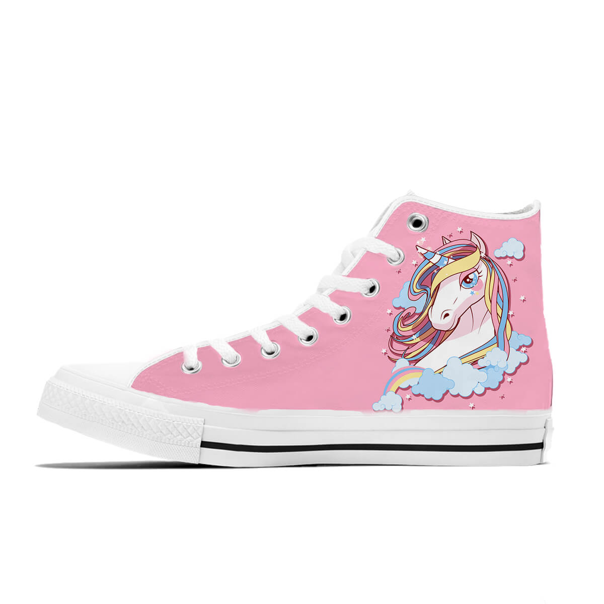 Pink Unicorn High Tops - 24 Style