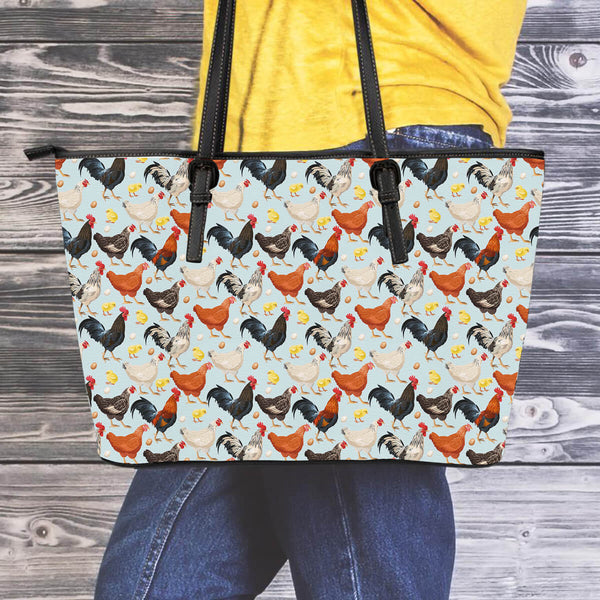 Chicken Leather Tote Bag - 24 Style