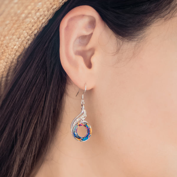 Rise of the Phoenix Crystal Earrings - 24 Style