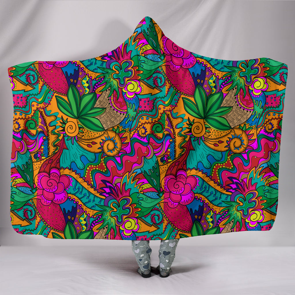 High Times Hooded Blanket