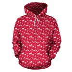 Red Horses Pullover Hoodie