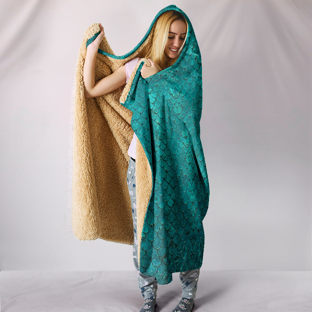 Mermaid Hooded Blanket - 24 Style