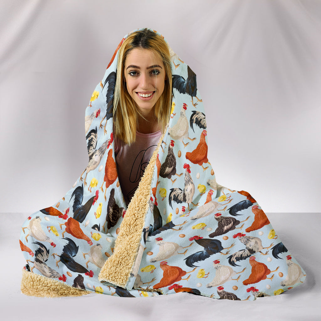 Chicken Hooded Blanket - 24 Style
