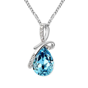 Blue Drop Necklace - 24 Style