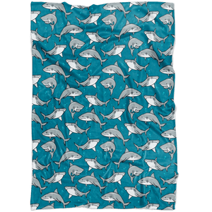 Shark Fleece Blanket - 24 Style