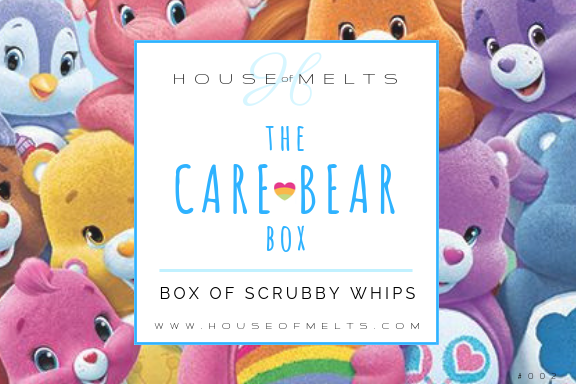 The CARE BEAR Box of Scrubby Whips - PRE ORDER