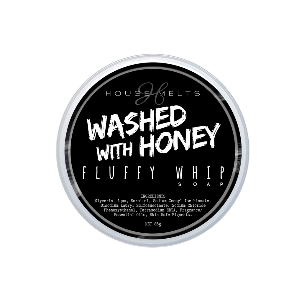 WASHED WITH HONEY - WHIPPED SOAP