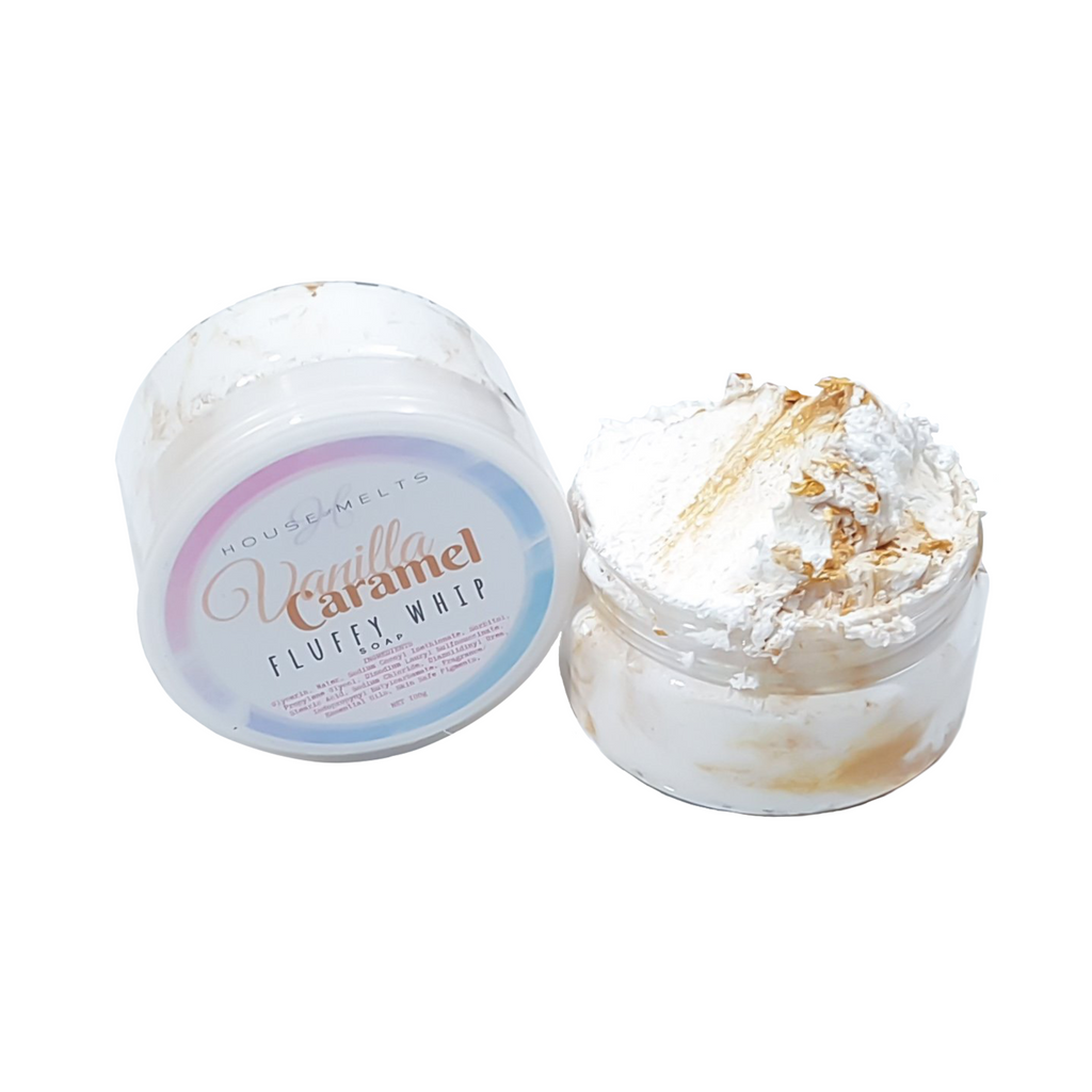 VANILLA CARAMEL - FLUFFY WHIP SOAP