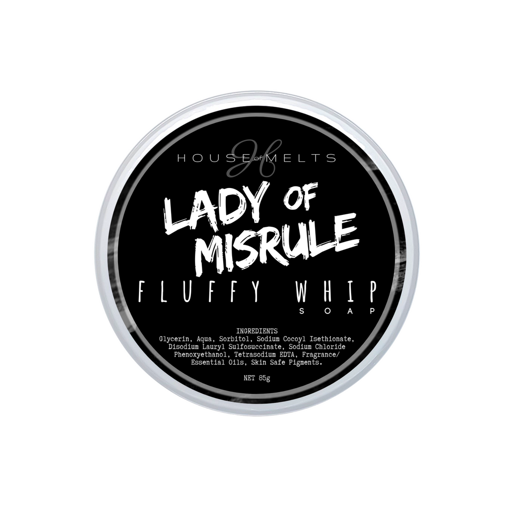 LADY OF MISRULE - WHIPPED SOAP
