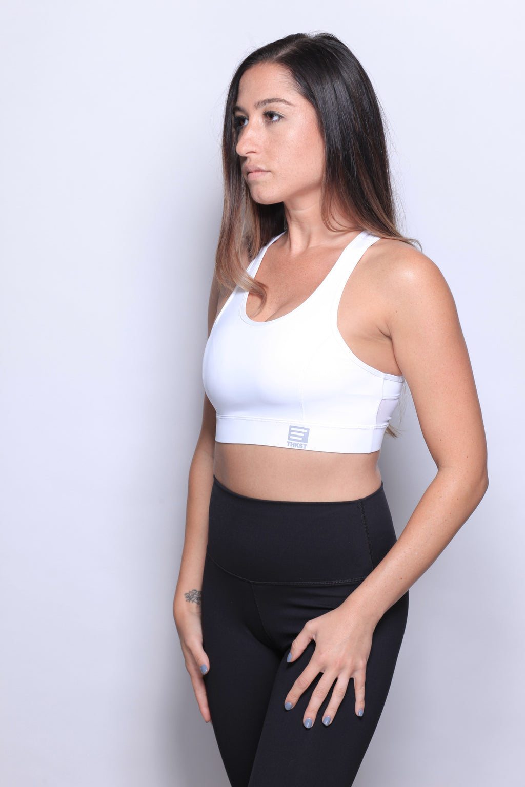 THKST Revelation Sports Bra - White