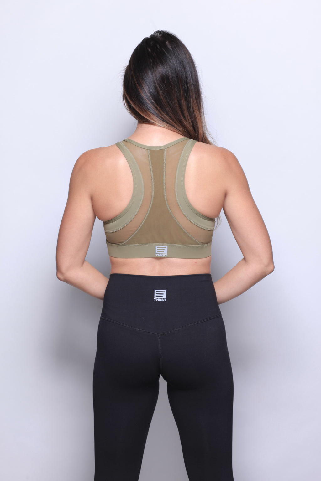 THKST Revelation Sports Bra - Green