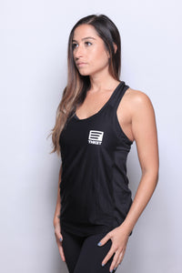 THKST Vitalize T Back Tank - Black