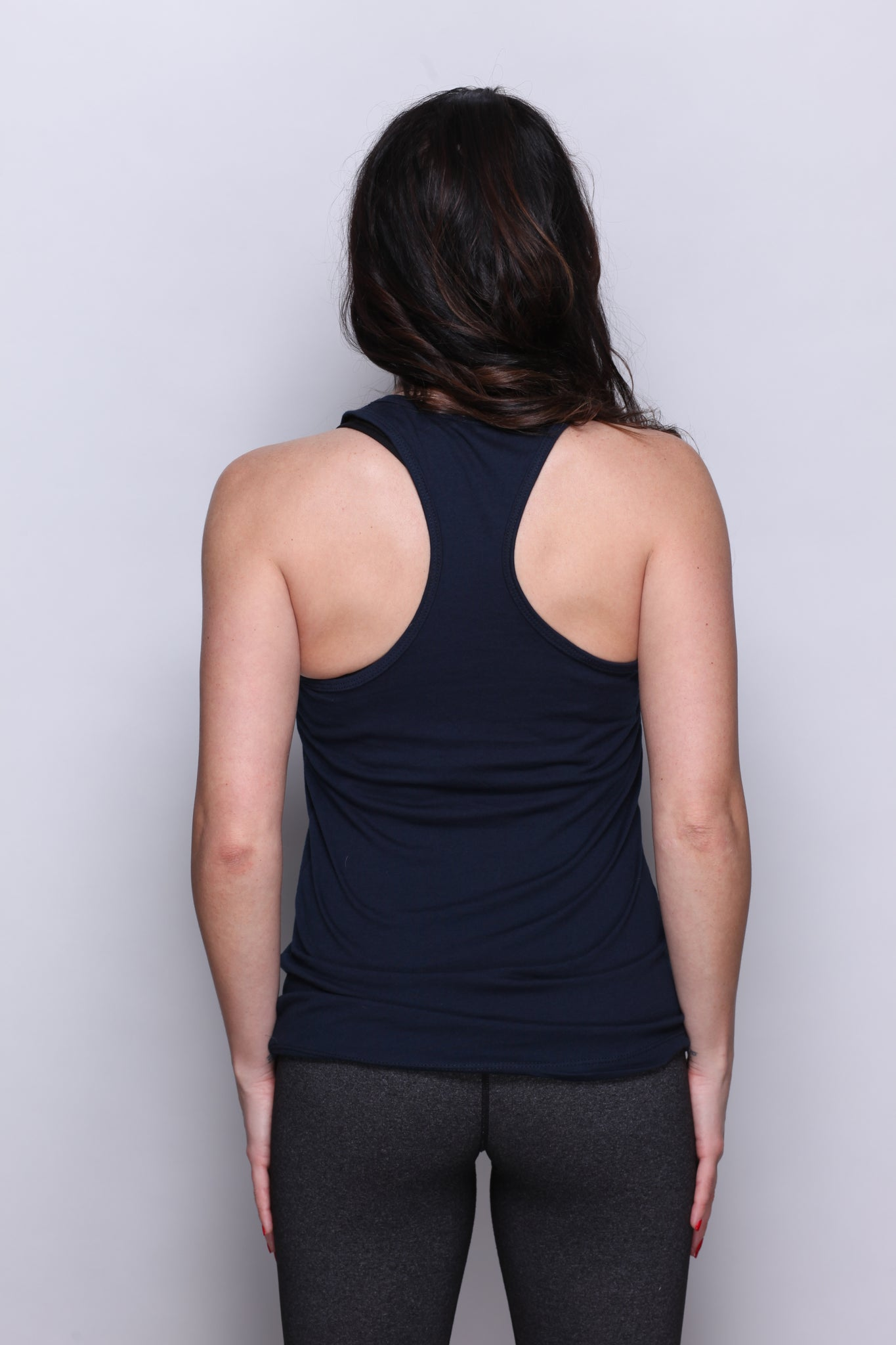 LIMITED RELEASE - THKST Statement Racerback Tank - Navy/White