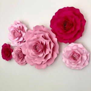 6 Piece Rose Set