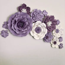 8 Piece Oversized Flower Set