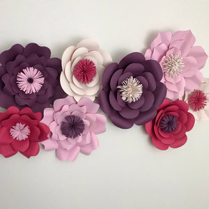 8 Piece Mixed Flower Set