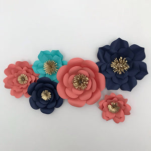 6 Piece Mixed Flower Set