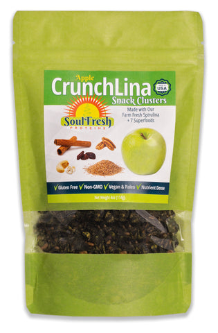 CrunchLina Apple Cinnamon 4oz