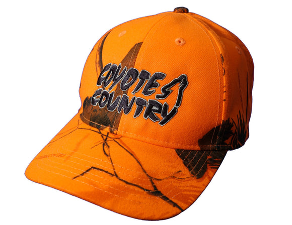 Coyote Country Official Blaze Orange Hat