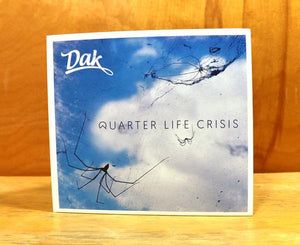 Quarter Life Crisis LP (Dak Est. Chest Logo Tee SUPER Bundle)