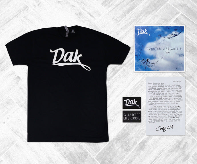 Quarter Life Crisis LP (Dak Tee BUNDLE)