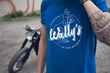 Forever Wally's Tee (Royal)