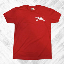 Dak Est. Chest Logo Tee (Red)