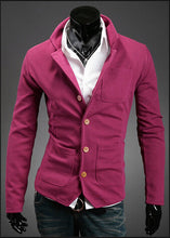 Men's Form Fitting Blazer Top