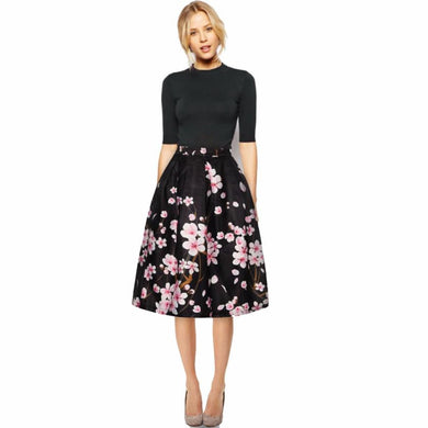 Women Floral  Printed Skirt