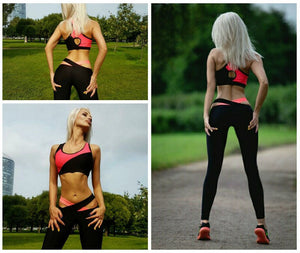 Women's Two Piece Fitness Set