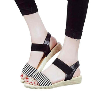 Women's Summer Stripe Bohemia Sandals