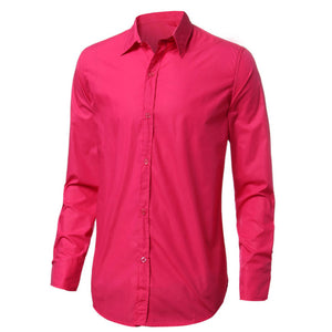 Men's Casual Button Up Dress Shirts