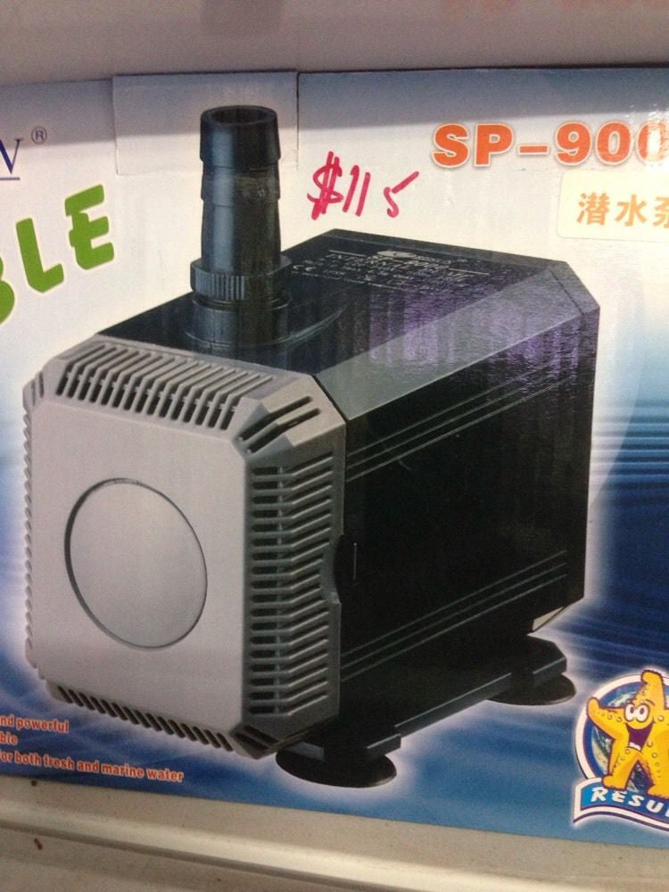 RESUN SP9000 SUBMERSIBLE PUMP - 130W - NEW.