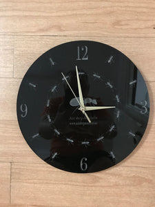 Ant Clock wall mounted