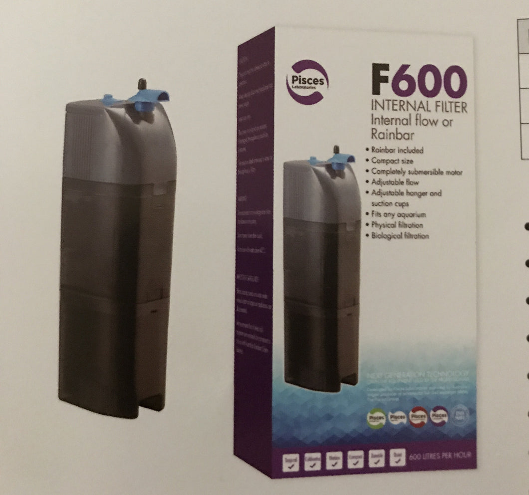 Aquarium internal filter Pisces F600