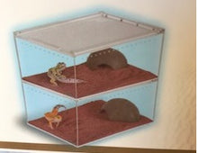 Ant Outworld Acrylic with magnetic sliding lid ventilation 3 sizes for large Ants and reptiles