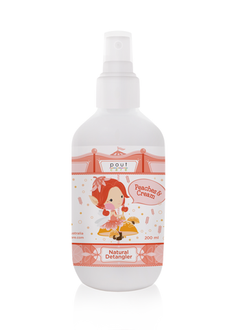 Peaches & Cream Natural Detangler 200ml