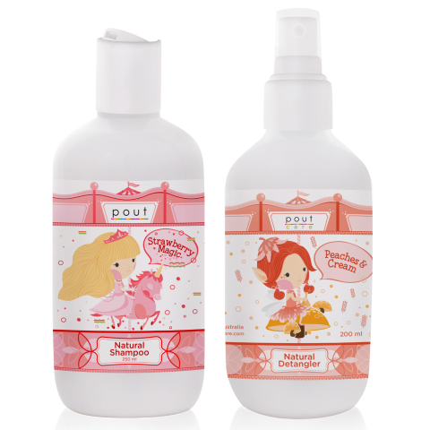 Natural Shampoo and Detangler Bundles