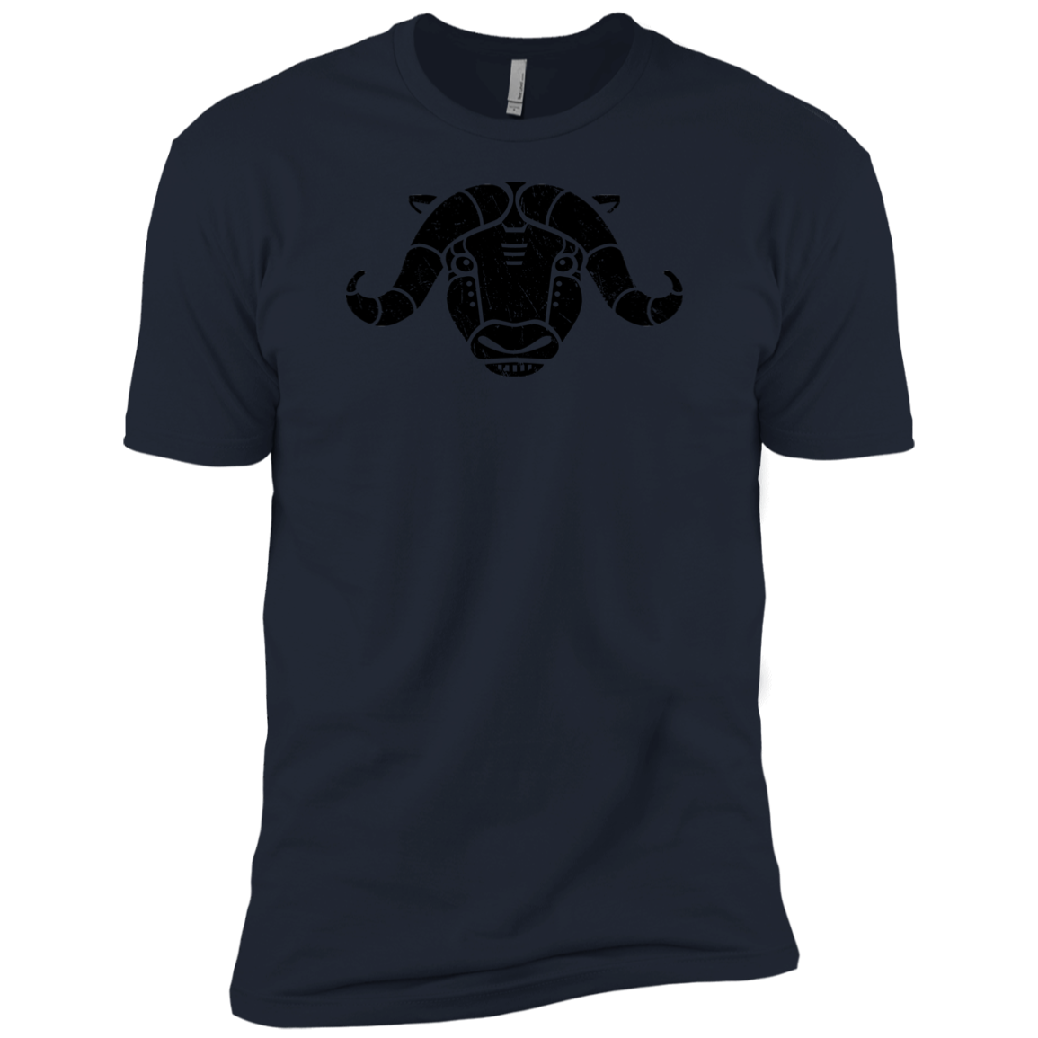 Black Distressed Emblem (Musk Ox/Moxie)