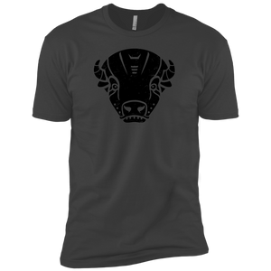Black Distressed Emblem (Bison/Panzer) - Dark Corps