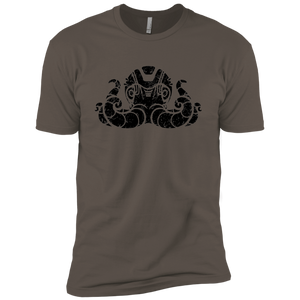 Black Distressed Emblem (Octopus/Matey) - Dark Corps