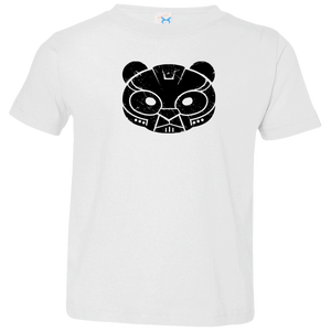 Black Distressed Emblem T-Shirt for Toddlers (Bear Company) - Dark Corps
