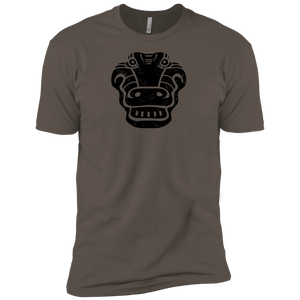 Black Distressed Emblem (Alligator/Croc) - Dark Corps