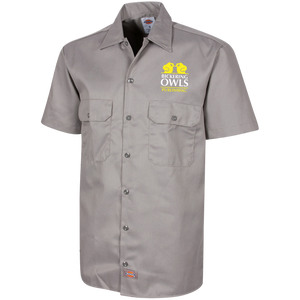 1574 Dickies Men's Short Sleeve Workshirt - Dark Corps