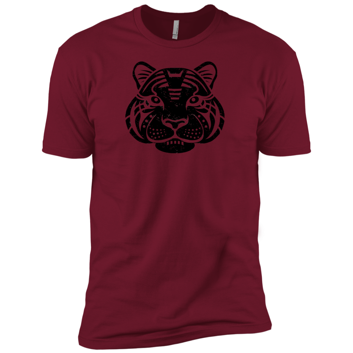 Black Distressed Emblem (Tiger/Siber) - Dark Corps