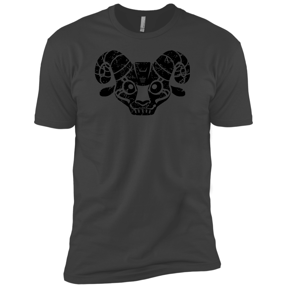 Black Distressed Emblem (Goat/BILLE) - Dark Corps