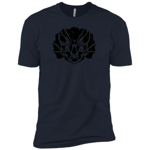 Black Distressed Emblem (Triceratops) - Dark Corps