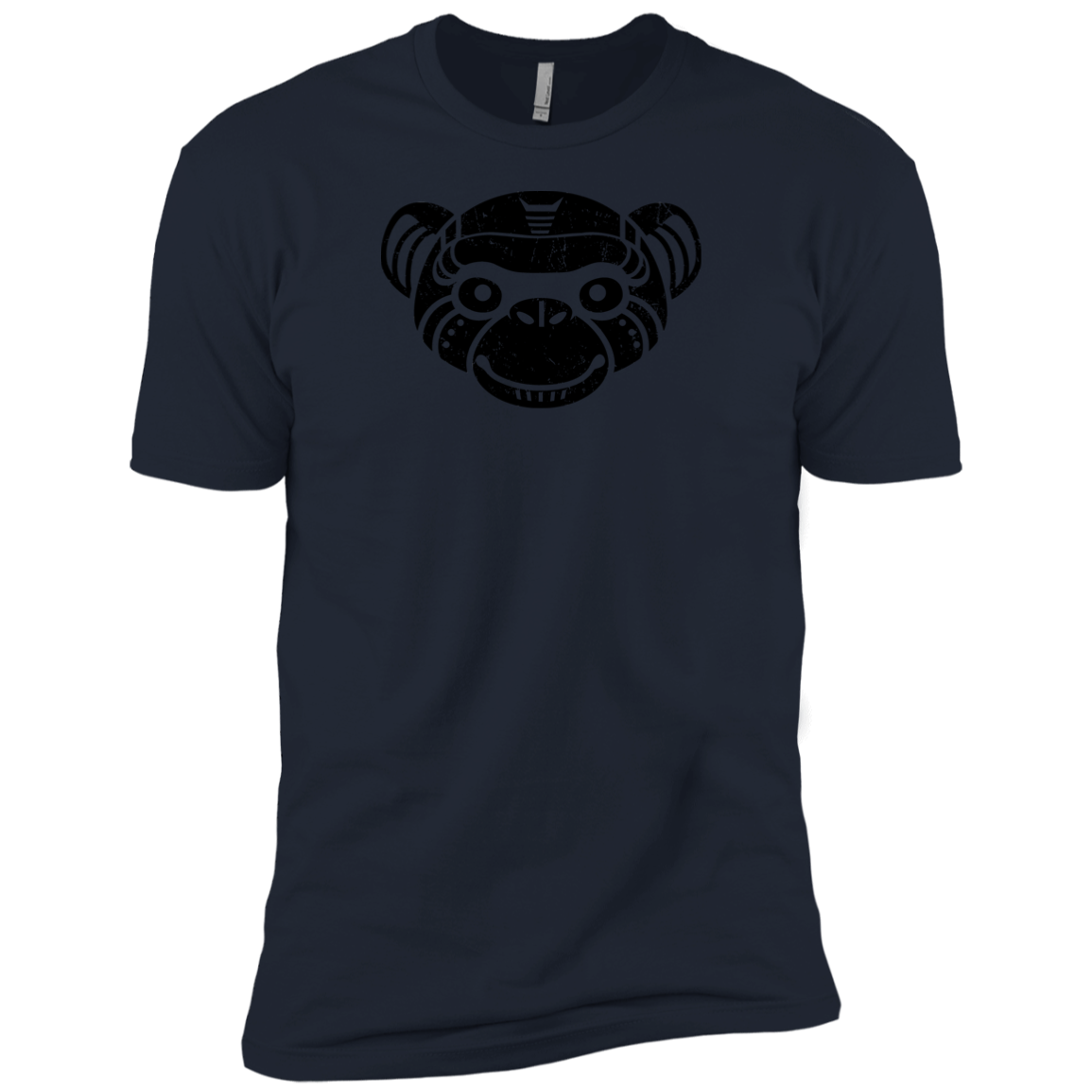 Black Distressed Emblem (Monkey/Fix) - Dark Corps