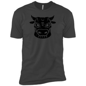 Black Distressed Emblem (Cow/ Ud) - Dark Corps